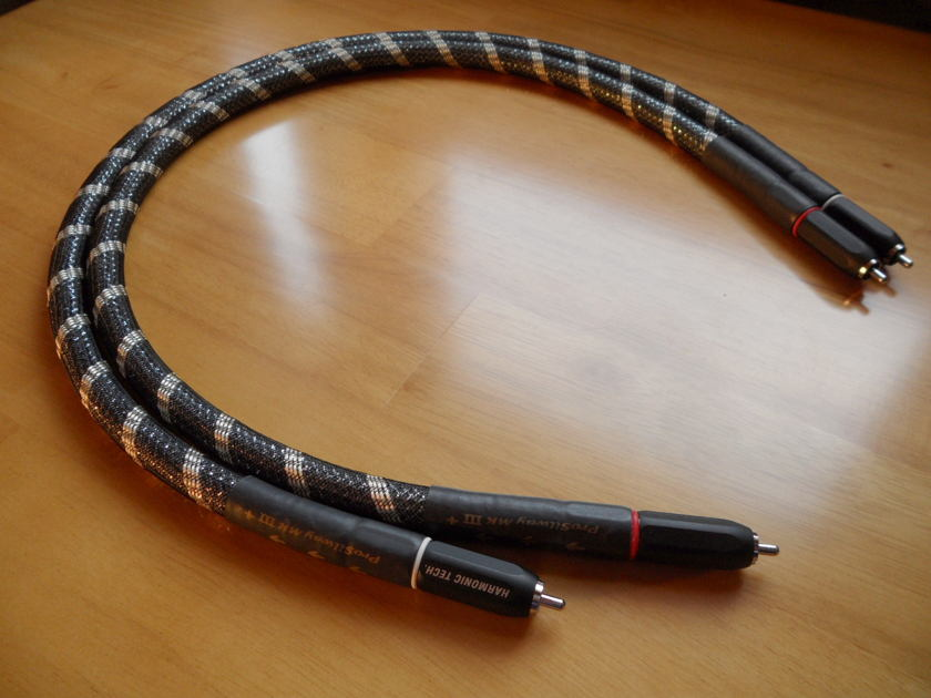 Harmonic Technology Pro Silway MKIII+ MK3+ 0.75m RCA