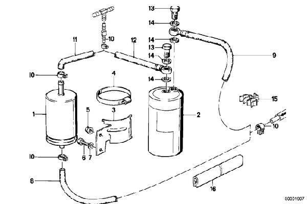 M20B23 Fuel Filter 13321720102