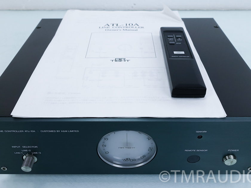 "Air Tight ATL-10A Passive Linestage ""Preamplifier"" w/ Remote (7024)"