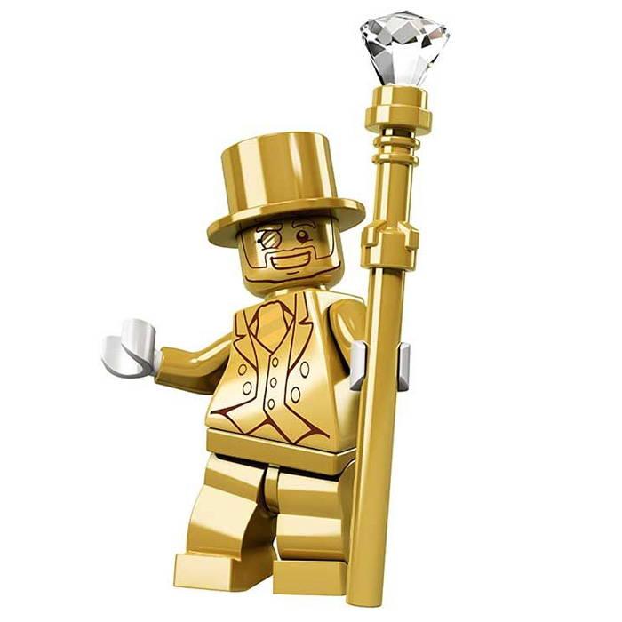 lego gold minifigure