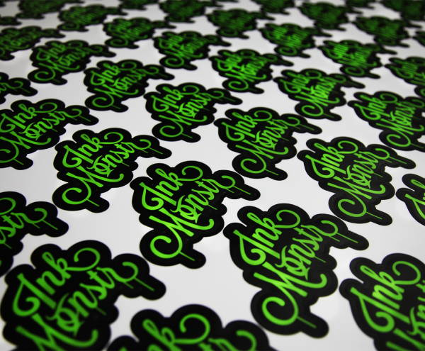 Stickers & Labels - Ink Monstr Apparel Logo Stickers