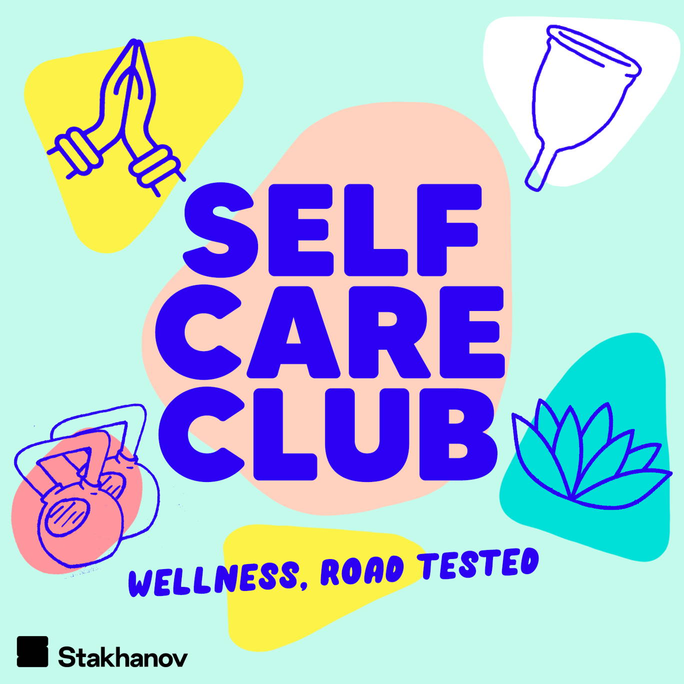 The artwork for the Self Care Club: Wellness, road tested podcast.