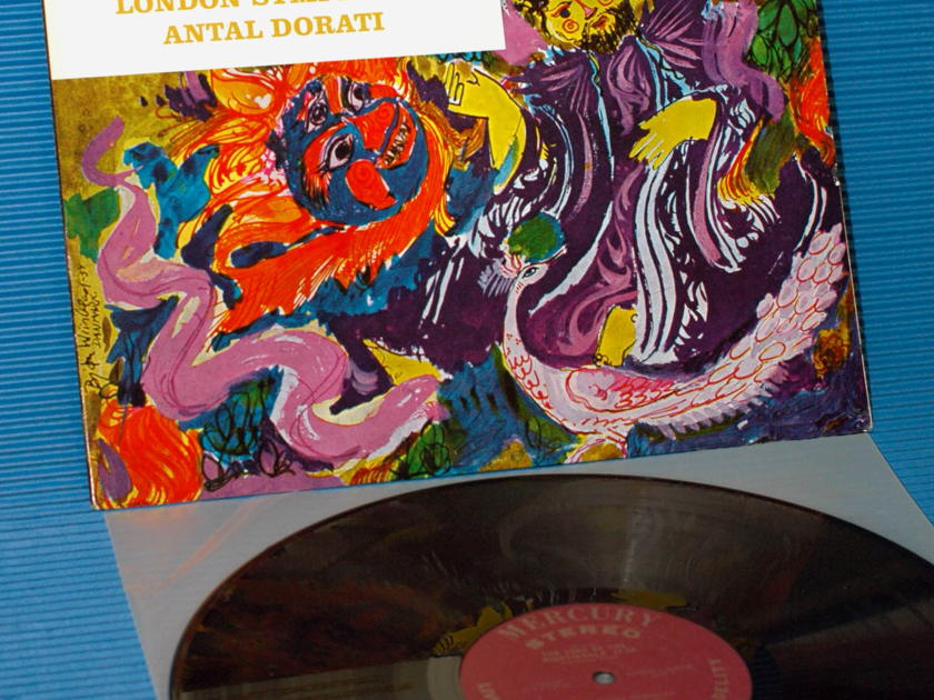 "STRAVINSKY / Dorati  - ""Song of the Nightingale"" -  Mercury Living Presence 1964 TAS List 1st pressing"