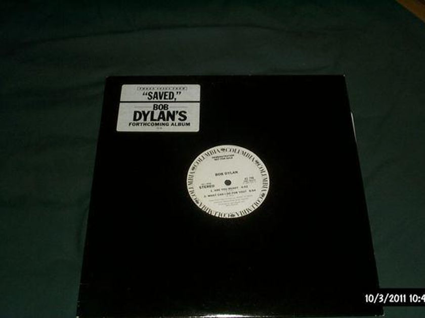 Bob dylan - Saved Promo Sampler vinyl nm