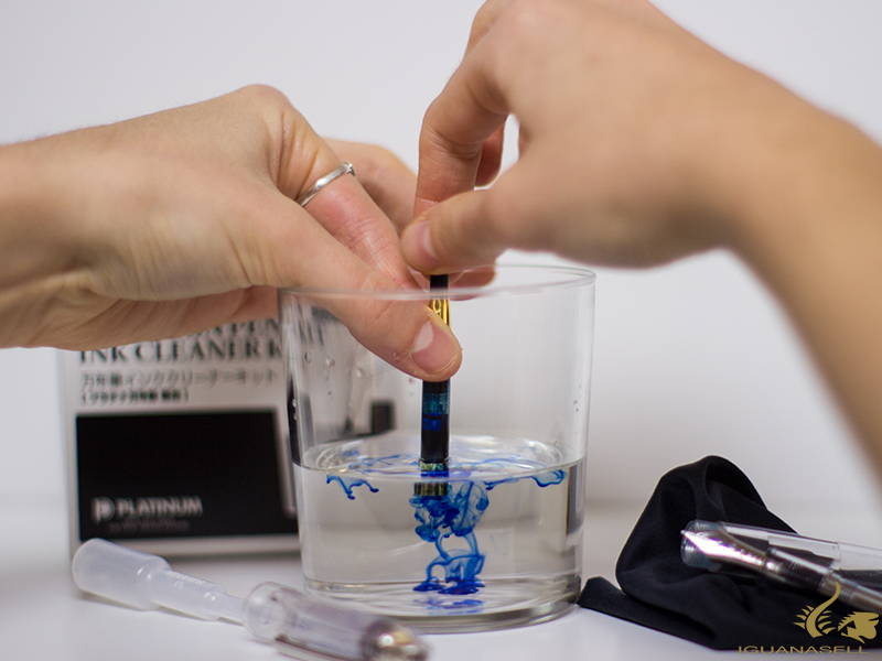 how to clean a fountain pen