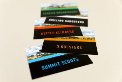 Weber Team Cards