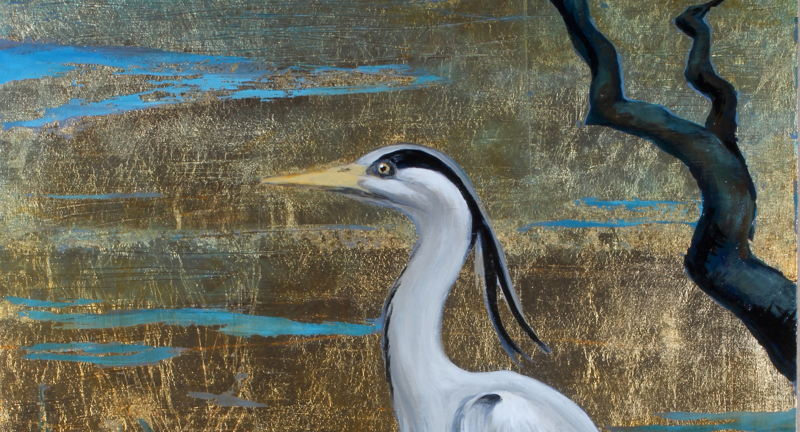 """Placitas Wild Hearts Gallery presents Bunny Bowen Art Exhibition """"Bearing Witness – Wise Birds and Other Messengers"""""""