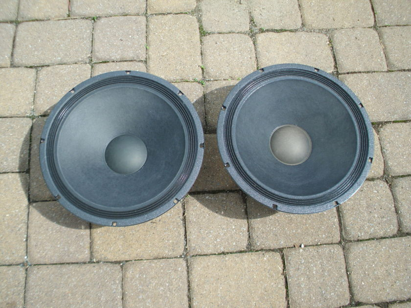 Open Baffle Speaker and Crossover Setup Eminence/Tang Band