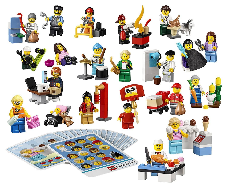 Career-Themed Lego Mini Figures
