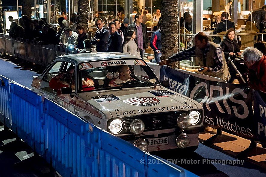 Puerto Andratx - Nadal Galiana is racing at the Classic Car Rally Mallorca.