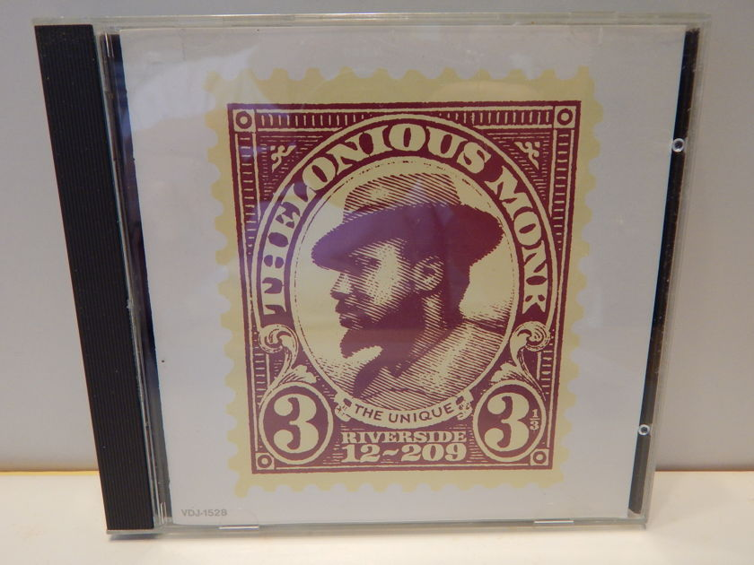 THELONIOUS MONK Monk's Music -  Riverside VDJ 1516 Japan Import Coleman Hawkins John Coltraine CD