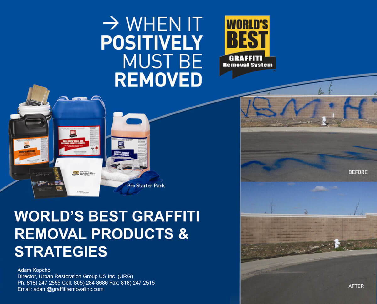 World's Best Graffiti Removal Strategies