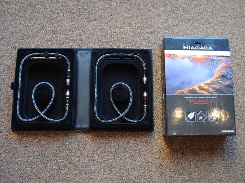 Audioquest Niagara 1M RCA Interconnects