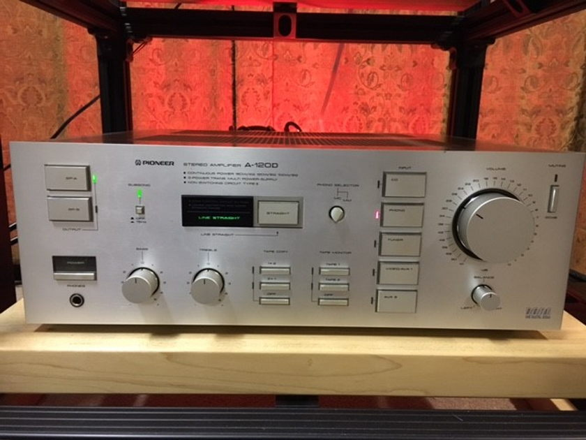 Pioneer  A-120D  integrated amp