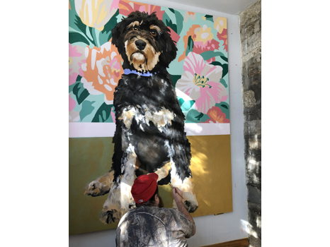Jay McClellan - Pet Commission Painting