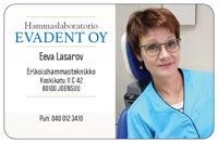 Hammaslaboratorio Evadent Oy EHT Eeva Lasarov, Joensuu