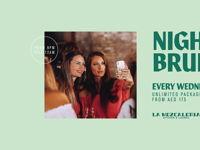 NIGHT BRUNCH - EVERY WEDNESDAY image