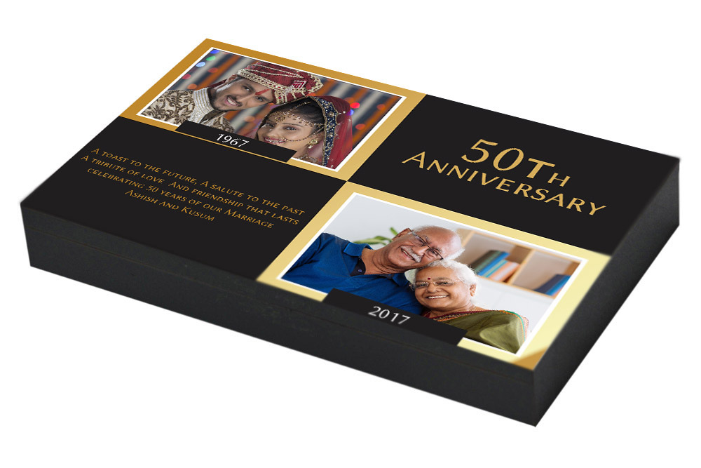 Photo Invitation for 50th Marriage Anniversary