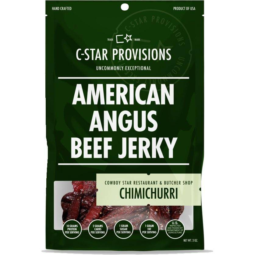 C-Star Provisions Chimichurri Beef Jerky