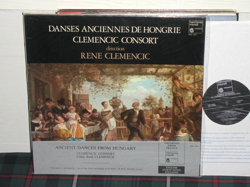 Rene Clemencic Consort - Danses Anciennes De Hongrie Still in Shrink w/OBI >>TAS<<