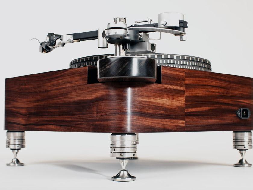 Woodsong Audio Garrard 401  Santos Rosewood plinth  tiny footprint model
