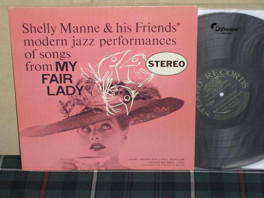 Shelly Manne & His Friends - My Fair Lady First Press Contemporary STEREO S7527 from early '60's