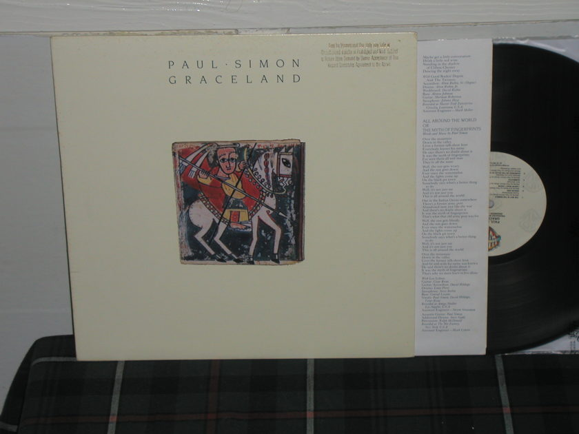 Paul Simon - Graceland WB Promo on Quiex II