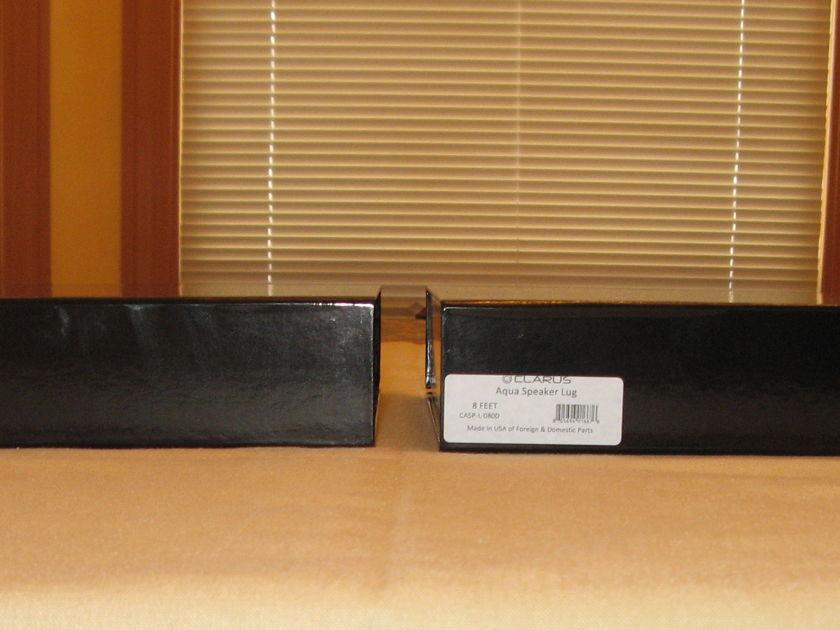 Clarus Aqua Speaker Cable 8' Pair Spade Terminals