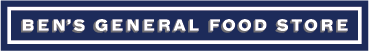 Logo - Ben's General Food Store Batai