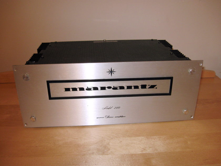Marantz` 240 Power Amp