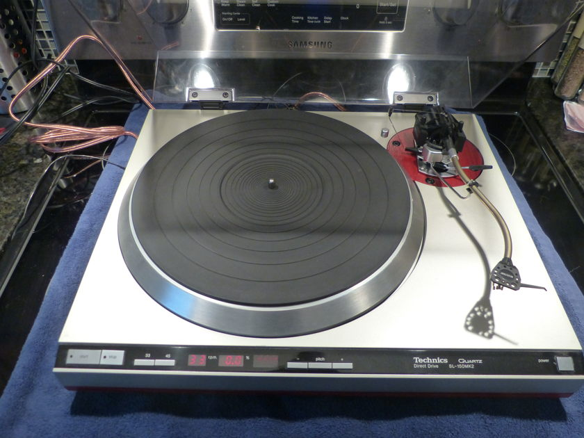 Technics SL 150 Mk ll SME 3009 S lll  Shure