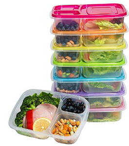 food containers for a healthy meal prep
