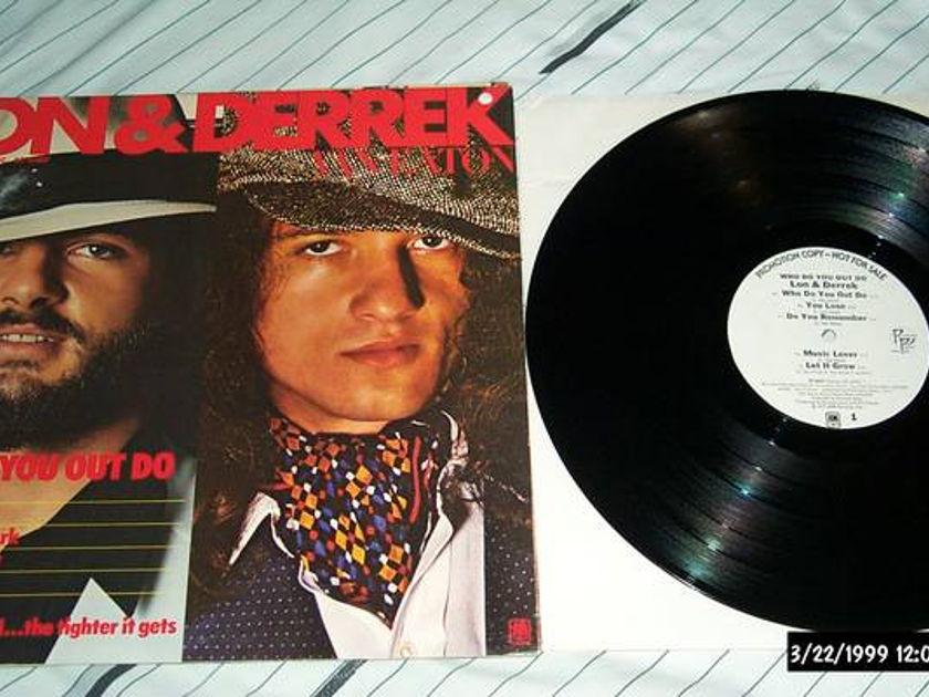 Lon & Derek - Who Do You Out do white label promo lp nm