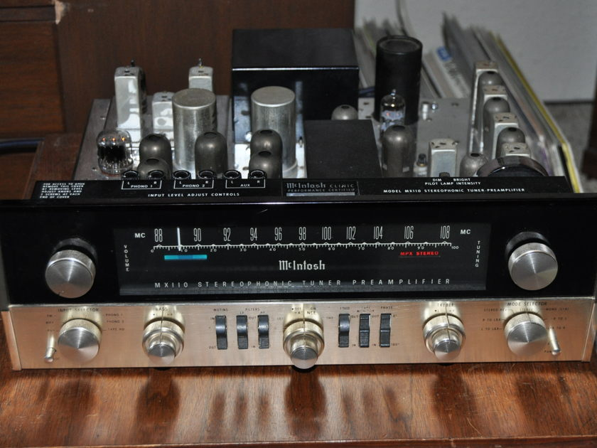 McIntosh MX110 Preamp Tuner MX110 Preamp Tuner