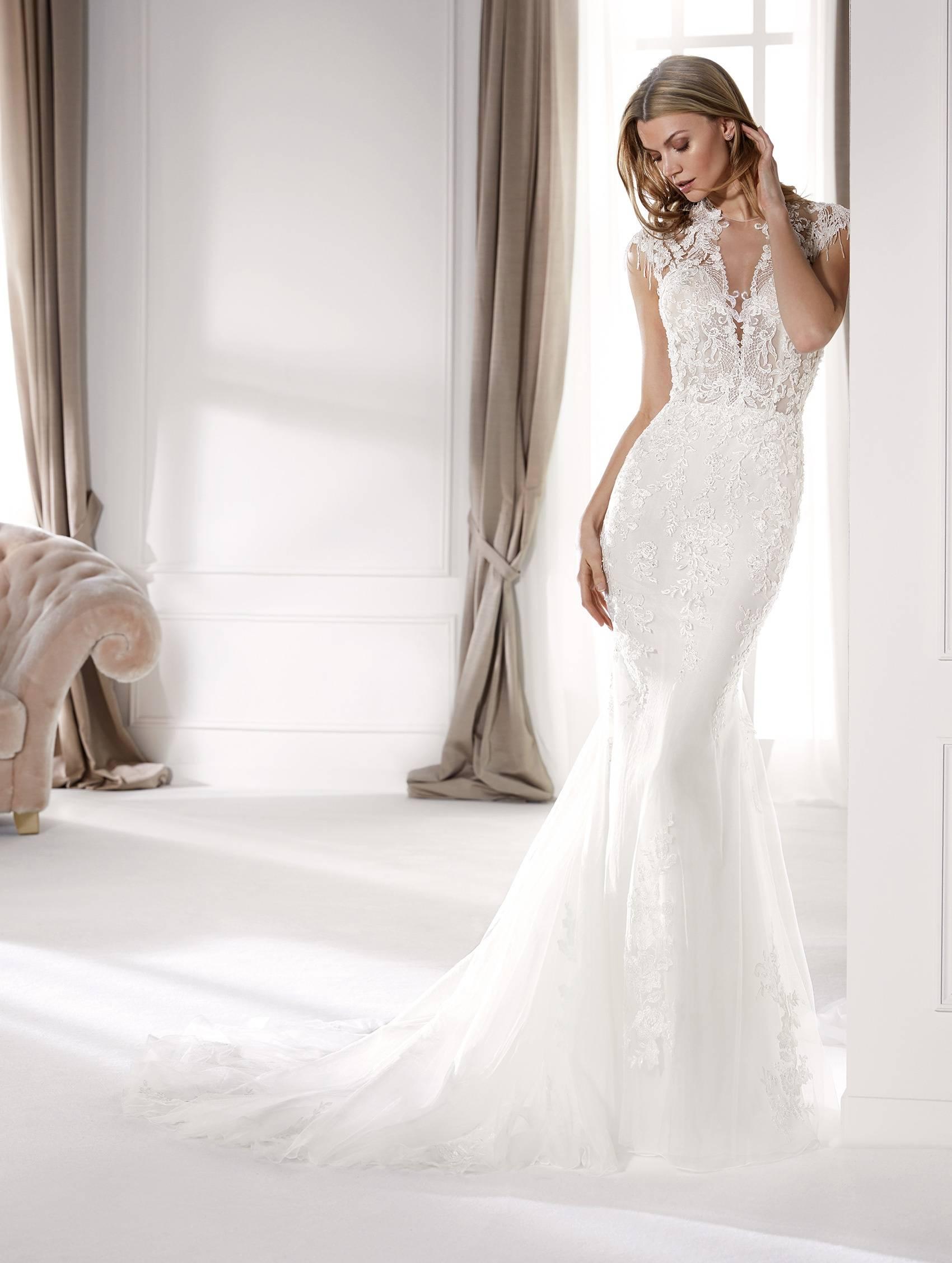 NICOLE MILANO NIA20751 WEDDING DRESS