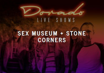 Sex museum  live, Ibiza concerts tickets spanish pop rock bands