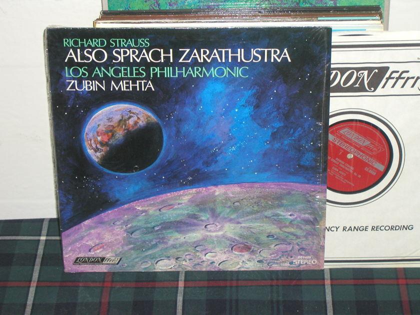 Mehta/Lapo - R. Strauss Also London UK/Decca LP