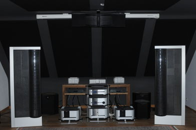 Classé Audio & MartinLogan based system