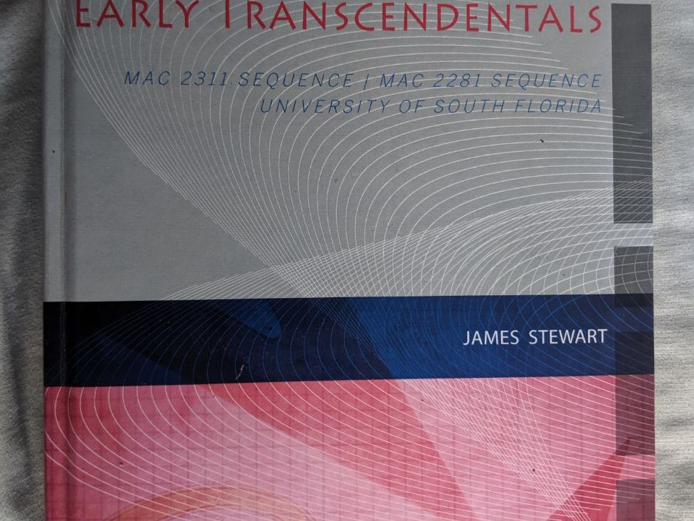 RENTERS BAY: Essential Calculus: Early Transcendentals by James Stewart
