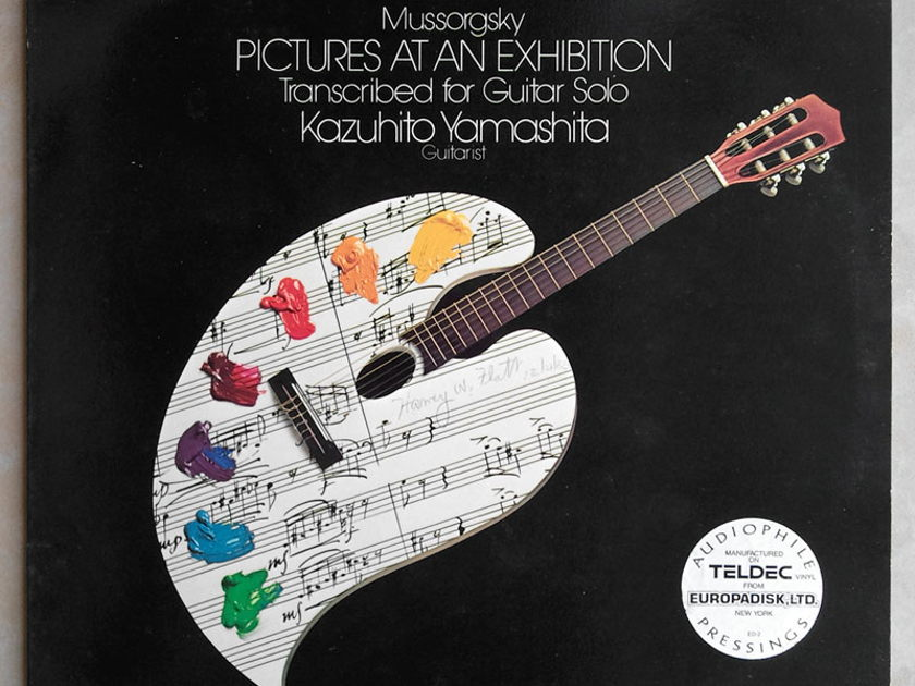 RCA Digital | KAZUHITO YAMASHITA/MUSSORGSKY - Pictures at an Exhibition (solo guitar) / NM