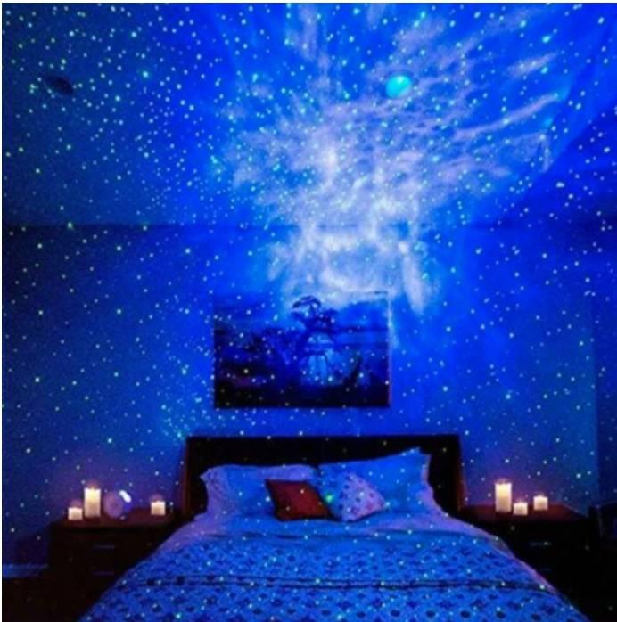 galaxy light projector, sky light projector, star night light