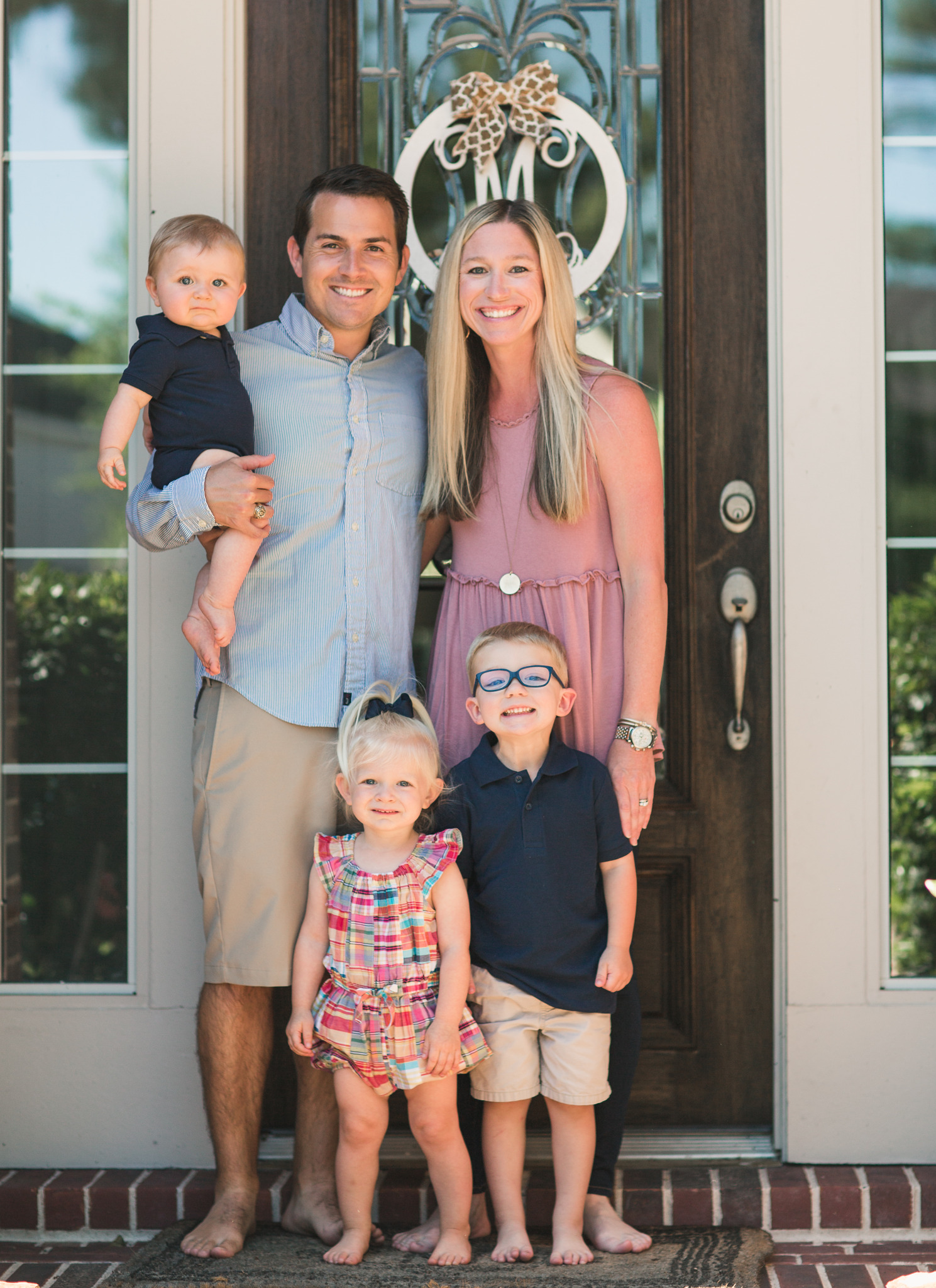 The Morgan family live in Cypress, Texas and attend Primrose School of Barker Cypress in the Coles Crossing area.