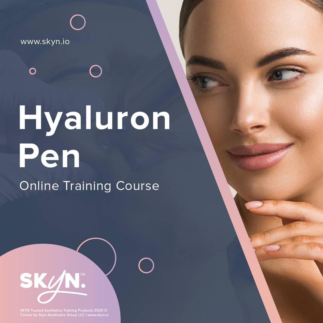 Hyaluron Pen Training - Needleless Injection