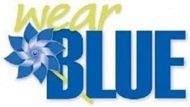 Wear Blue to Support Keeping Kids Safe!  Friday April 9th & Friday April 16th & Friday April 30th!