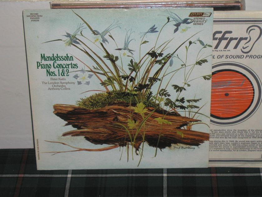 Collins/LSO - Mendelssohn Pio 1&2 London sts LP ffrr(thick)