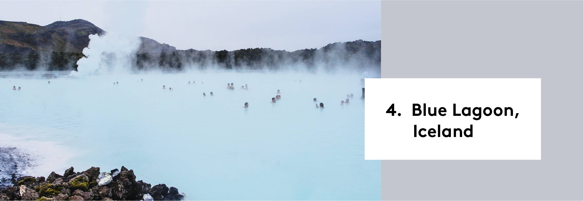 4. Blue Lagoon, Iceland