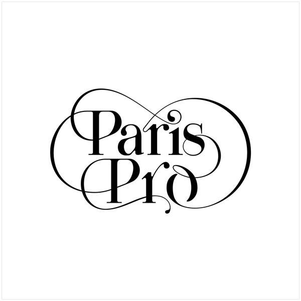Paris Pro Typeface - Beautiful font for fashion magazine by Moshik Nadav Typography