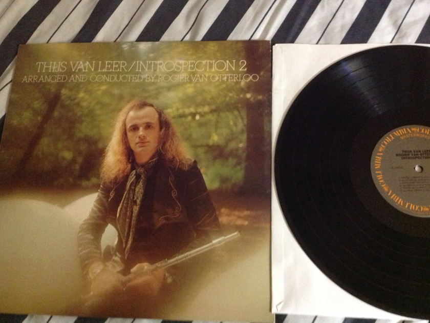 Thijs Van Leer(Focus) - Introspection No. 2 SQ Quadraphonic LP NM