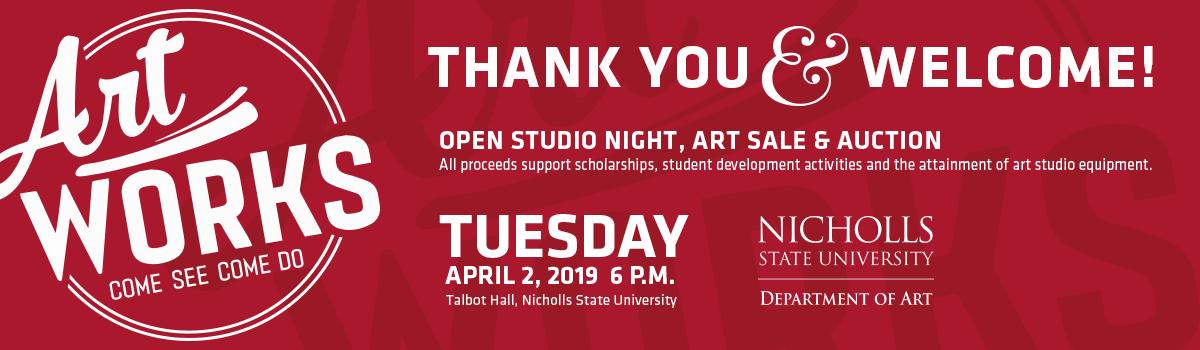 Artworks - NIcholls Foundation - Department of Art