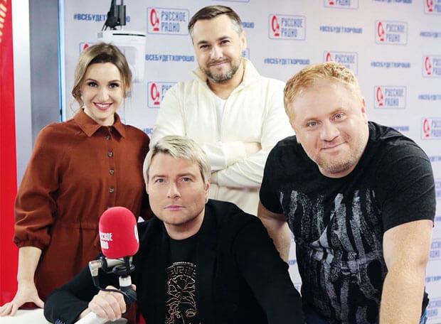 Николай Басков в гостях у «Русских Перцев» - Новости радио OnAir.ru
